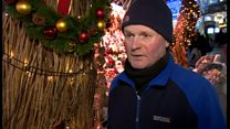 Birmingham Christmas market trader told to turn off his festive music or face court action