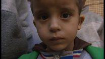 洗面器もつぎはぎ シリア内戦を生き延びる人々