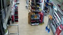 'Hoverboard' used in drinks theft
