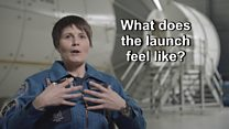 What does a space launch feel like?