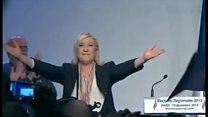 仏地方選 極右「国民戦線」の躍進阻まれる