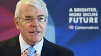 Sir John Major warns against 'flirting' with EU exit