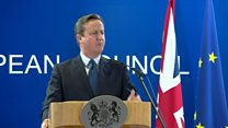 David Cameron: There is 'path' to EU deal
