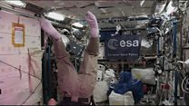 Tim Peake 'not mastered space somersault'