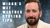 Sir Bradley Wiggins' wet weather cycling tips