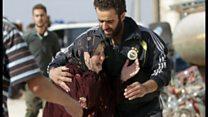 市民が無差別攻撃に ロシアのシリア空爆を人権団体が避難