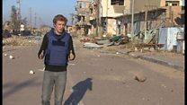 イラク軍のラマディ奪還 激しい戦闘物語る市街