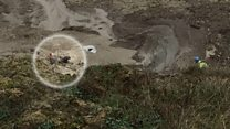 Woman rescued from mud by coastguards