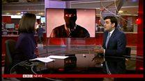 ISの「英スパイ処刑」動画 子どもの姿も