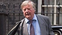 Clarke: Tories in danger of splitting over EU