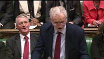 Corbyn: 'PM botched EU negotiations'