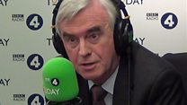 McDonnell: 'Backbench if disagree with Corbyn'