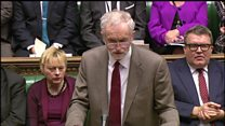 Corbyn challenges PM over floods response