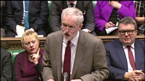 Cameron and Corbyn clash over flooding