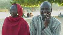 'We got married in a refugee camp'