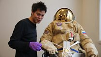 How this suit protects astronauts during spacewalks
