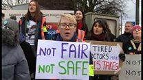 Sandwell Hospital tells striking doctors to go back to work