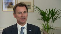 Hunt: Right thing to do is talk not strike