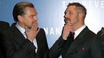Pals DiCaprio and Hardy on new film