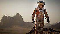 Matt Damon stars as an astronaut stranded on Mars in The Martian