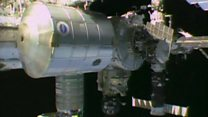 The moment spacewalk was called off