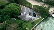 Drug baron's mansion demolished