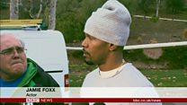 米俳優ジェイミー・フォックスさん、炎上車両から男性救出も謙遜