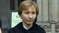 暗殺された元ロシアスパイの妻、英報告書を歓迎