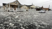 Freezing floodwaters hit New Jersey