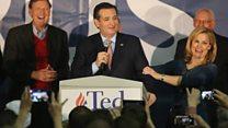 Cruz tops Trump in Iowa Caucus