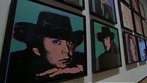 Private Warhol collection on display