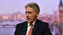 "Hammond: Russians need to support peace not ""torpedo it"""