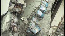 なぜこのマンションだけ 台南市の地震