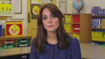 Duchess of Cambridge releases video