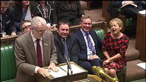 PMQs jokes at email from 'Rosie'