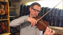 Restored violin made at PoW camp 'just sings out at you'