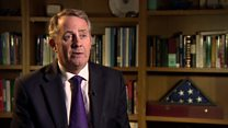 What is it like to be defence secretary?