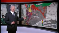シリア北部の病院空爆 ロシアが関与か