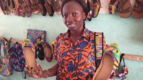 Shoemaker invests in disabled artisans