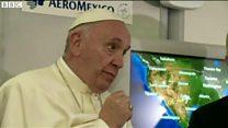 ローマ法王、トランプ氏発言を「キリストの教えではない」と