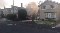 House explodes in North Yorkshire