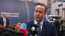 Cameron: Some progress but still no deal