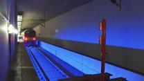 Inside Heathrow's 'immense' secret railway station