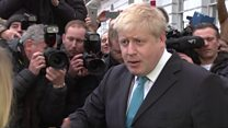 Boris Johnson: 'I've made up my mind'