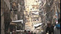 シリア首都などで爆弾攻撃 停戦努力のさなかに