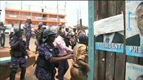 Besigye yatawe muri yombi