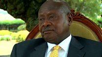 Museveni avuga ku ifatwa rya Besigye na Mbabazi