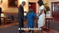 106歳の黒人女性、念願のホワイトハウスで感動