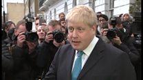 EU離脱問う英国民投票 ロンドン市長が首相に反旗
