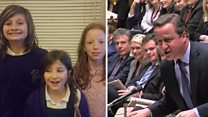Children react to Cameron's PMQs mother jibe